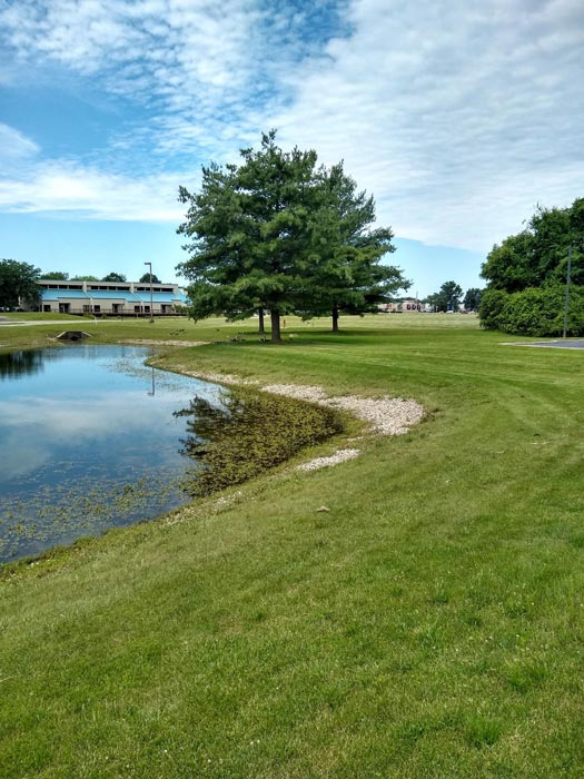 view of the grounds at Anabranch Recovery Center - Terre Haute Drug and Alcohol Addiction Treatment Center and Detox Services