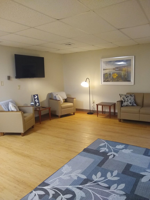 lovely waiting area with comfortable seating - Anabranch Recovery Center - Terre Haute, IN substance use disorder treatment center